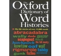 Oxford dictionary of word histories