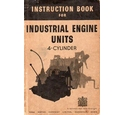 Instruction Book for Industrial Engine Units - 4-cylinder (1946)