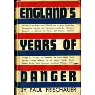 England's Years of Danger