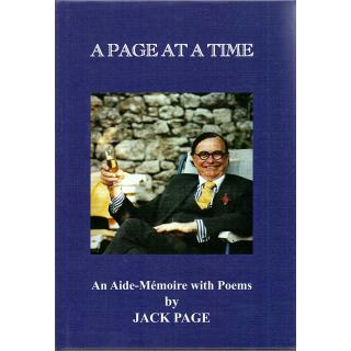 A Page at a Time - An Aide-Memoirs with Poems - Signed