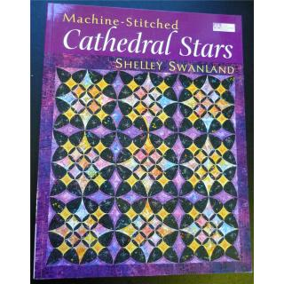 Machine Stitched Cathedral Stars