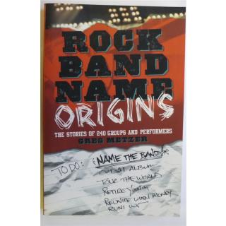 Rock band name origins