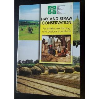 Hay and straw conservation