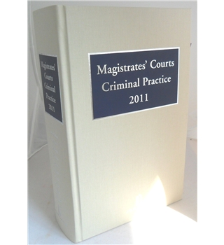 Magistrates' courts criminal practice 2011