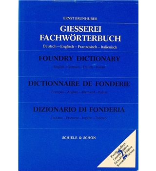 Foundry Dictionary: English-German-French-Italian
