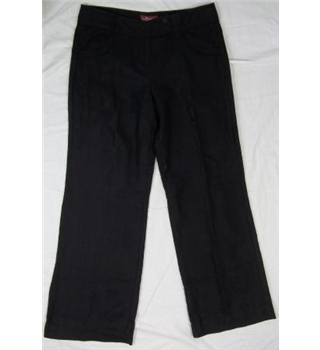 Monsoon, size 10, black trousers.