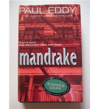 Mandrake - Paul Eddy - Signed First Edition