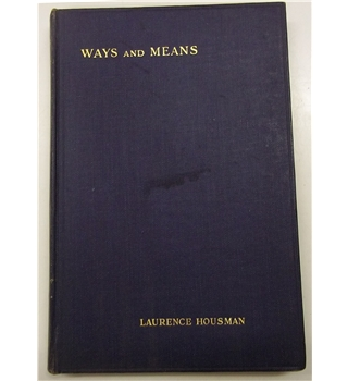 Ways And Means (signed)