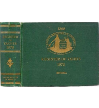 Register of Yachts 1973
