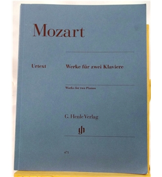 Mozart Works for two Pianos
