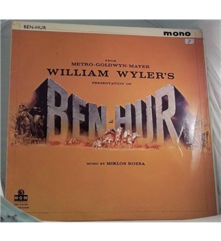 """Ben Hur"" ost LP by Miklos Rozsa - MGM-C-802"