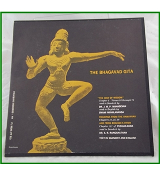 The Bhagavad Gita - Various artists - FP 92 - Ethnic Folkways Library 1951