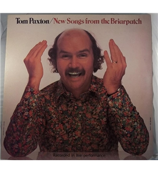 """New Songs From The Briarpatch"" LP by Tom Paxton - MAMS 1005"