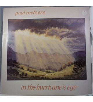"""In The Hurricane's Eye"" LP by Paul Metsers - SGM 279"