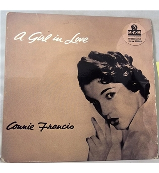 """A Girl In Love"" 7inch EP by Connie Francis - MGM-EP-658"
