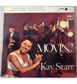 """Movin (Part 2)"" 7inch EP by Kay Starr - EAP2-1254"