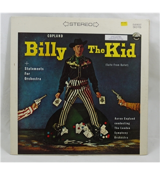 Billy the Kid + Statements for Orchestra - Aaron Copland/ London Symphony Orchestra - 3015