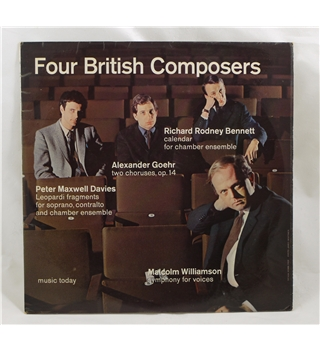 Four British Composers - Various Artists - ALP2093