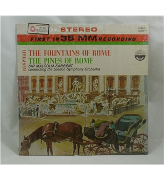 Fountains and Pines of Rome - Sargent/ London Symphony Orchestra - 3051