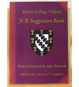 JCR Suggestion Book