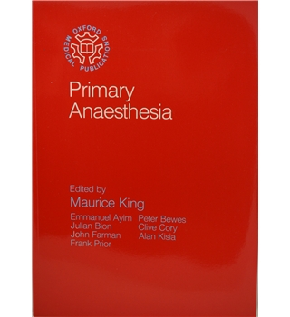 Primary Anaesthesia