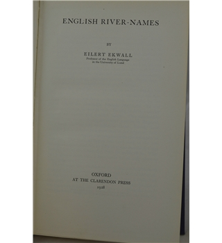 English River Names