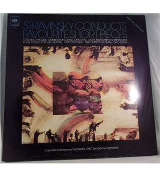 """Stravinsky Conducts Favourite Short Pieces"" LP - CBS 61839"