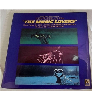 """Ken Russells ""The Music Lovers"" OST LP - UAS 29134"