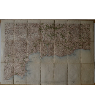 Ordnance Survey of England - Cornwall (1911)