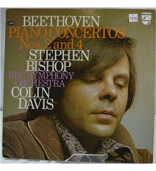 Beethoven: Piano Concertos Nos.2 and 4 - Stephen Bishop, C. Davis, BBC Symphony Orchestra - 6500 975