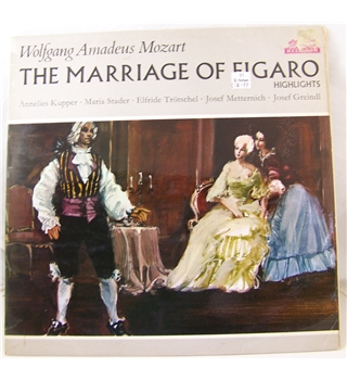 Mozart: The Marriage of Figaro (Highlights) - Various artists - 80 539