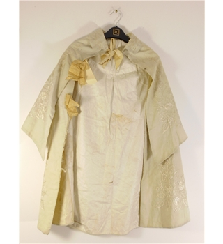 Antique 'Edwardian Collection' Child's Cape Featuring Snow White Hand Embroidery