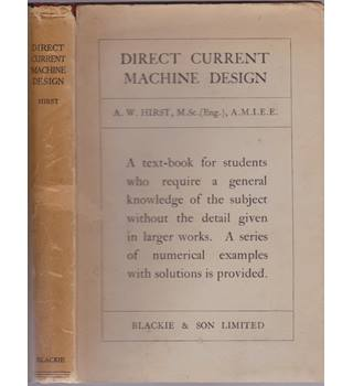 Direct Current Machine Design