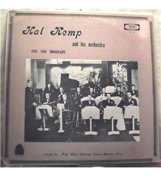 """1935-1936 Broadcasts"" LP by Hal Kemp -  26-126"