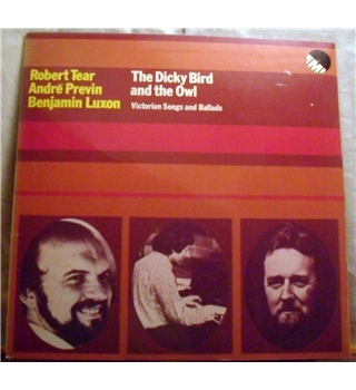 """The Dicky Bird & the Owl"" Victorian songs LP by Previn et al - EMD 5509"