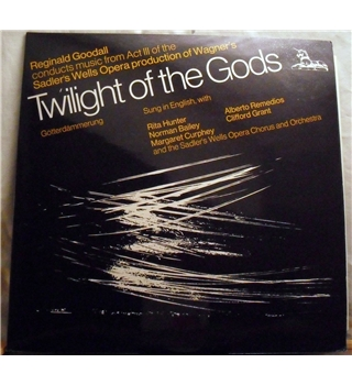 """Wagner -Twilight Of The Gods"" 2LP by Sadlers Wells Opera - UNS 245&246"