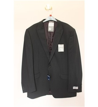"BNWOT Marks & Spencers Size 42"" Chest Suit Jacket Marks & Spencers - Size: M - Grey - Single breasted suit jacket"