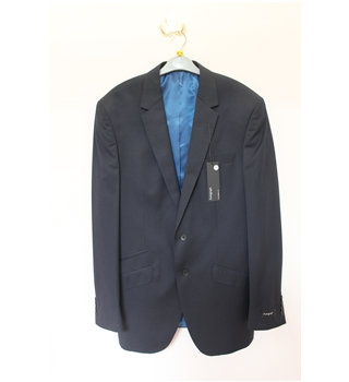 "BNWOT Marks & Spencers Size 40"" Chest Suit Jacket Marks & Spencers; Autograph - Size: L - Blue - Single breasted suit jacket"