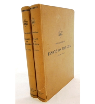 Essays on The Gita .(First and Second Series). 2 volumes