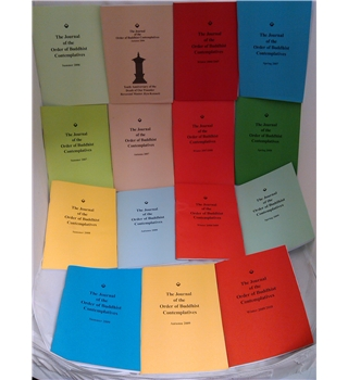 The Journal of the Order of Buddhist Contemplatives - 15 Copies, Summer 2006 - Winter 2009/2010