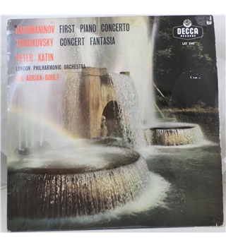 First piano concerto / Concert fantasia / The London Philharmonic Orchestra & co. - LXT 5447