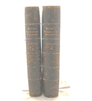 Horae Decanicae Rurales: The Name and Title, Origin, of Rural Deans. 2 Volumes