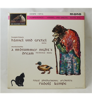 Hansel und Gretel  suite (Humperdink)/ A Midsummer Night's Dream (Mendelssohn) - Rudolph Kempe/ RPO - Alp 1892