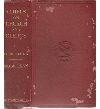 Cripps on Church and Clergy