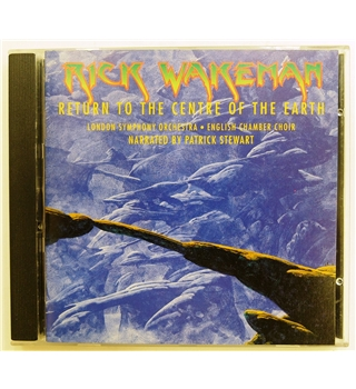 Return to the Centre of the Earth Promotional CD - Rick Wakeman