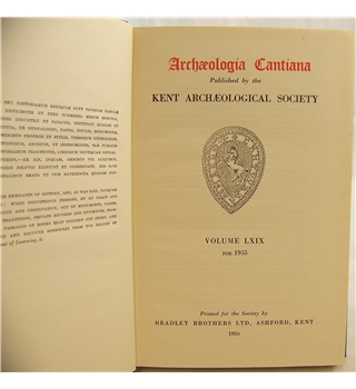 Archaeologia Cantiana Vol LXIX for 1955