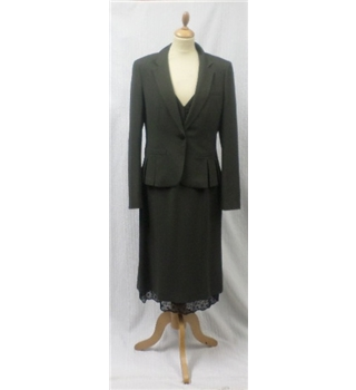 Episode Size 12 & 14 Grey Fully Lined Dress & Jacket Episode - Size: 12 - Grey - Calf length
