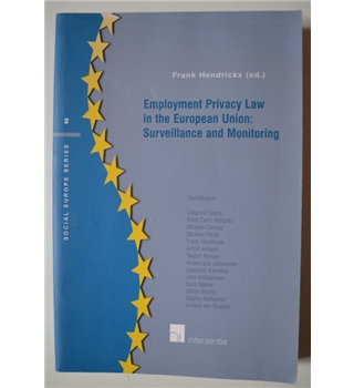 Employment Privacy Law in the EU