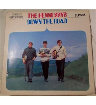 """Down The Road"" LP by The Hennessys - CLP593"