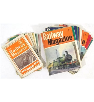 The Railway Magazine - 24 issues (1950 - 1965)
